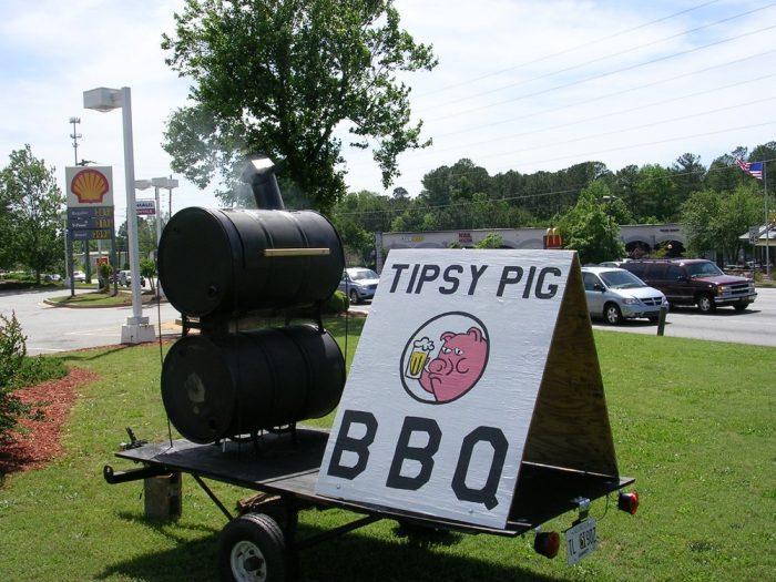 1. Tipsy Pig—3020 Five Forks Trickum Rd SW, Lilburn, GA 30047
