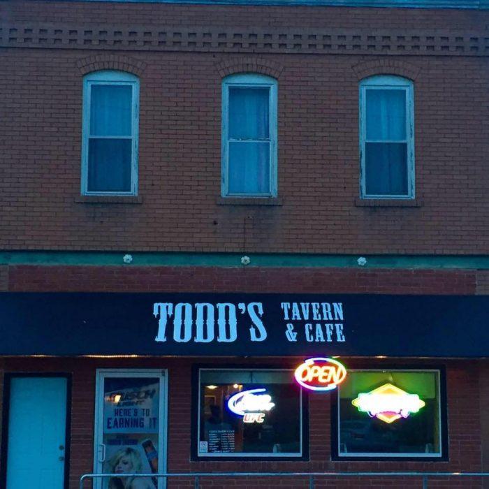 Check this Cedar Bluffs restaurant: Todd's Tavern and Cafe - 102 W Main St, Cedar Bluffs, NE 68015