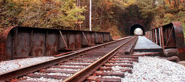 The residents of Sykesville embrace the local railroad history.