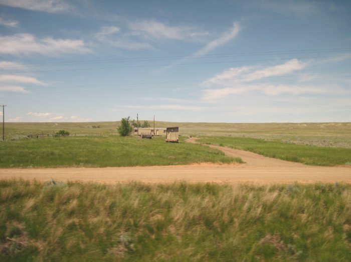 6. Junction Highways 24 and 200 from Fort Peck Dam to Malta