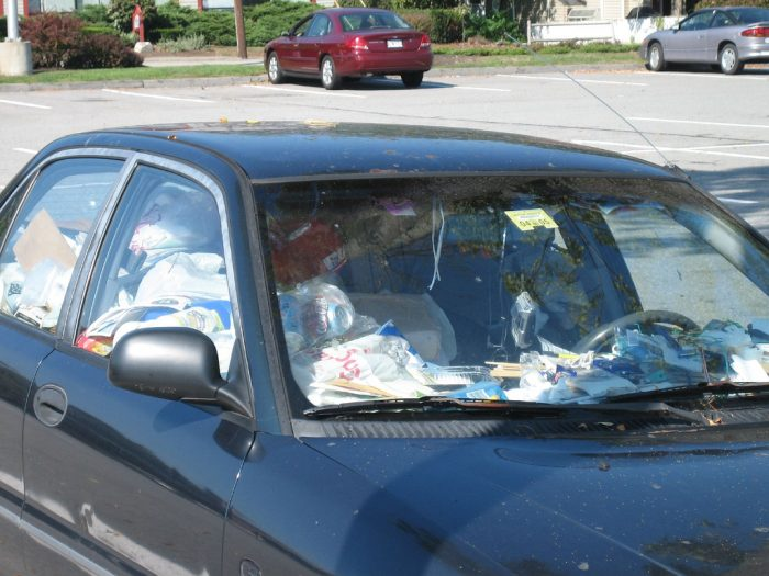 """IN HILTON HEAD - 10. It's against the law and considered a """"nuisance violation"""" if one has a large amount of trash in their car."""