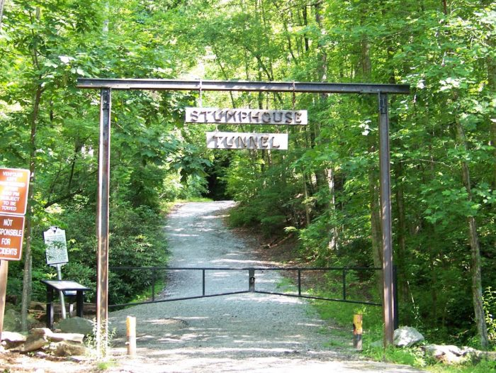 The Stumphouse Mountain Tunnel just outside of Walhalla, SC in the beautiful upstate is steeped with history.