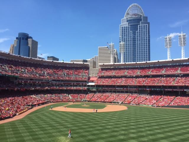5. We're also home to the Great American Ball Park.