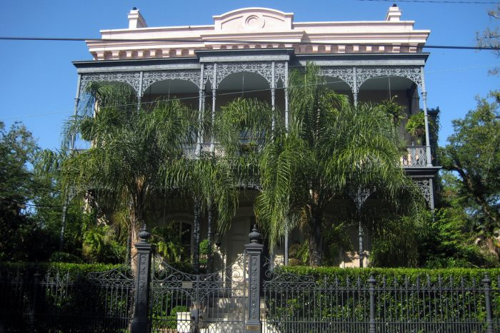 For those interested in diving deep into the history of this home, they can go on one of the numerous Garden District tours that feature the home.