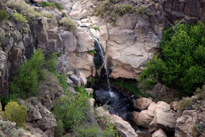 8. Waterfall near White Rock Overlook Park
