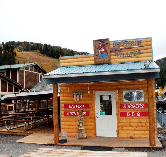 3. Shotgun Willie's, 403 W Main Street, Red River