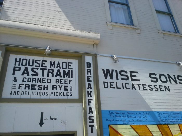 8. Wise Sons Jewish Delicatessen