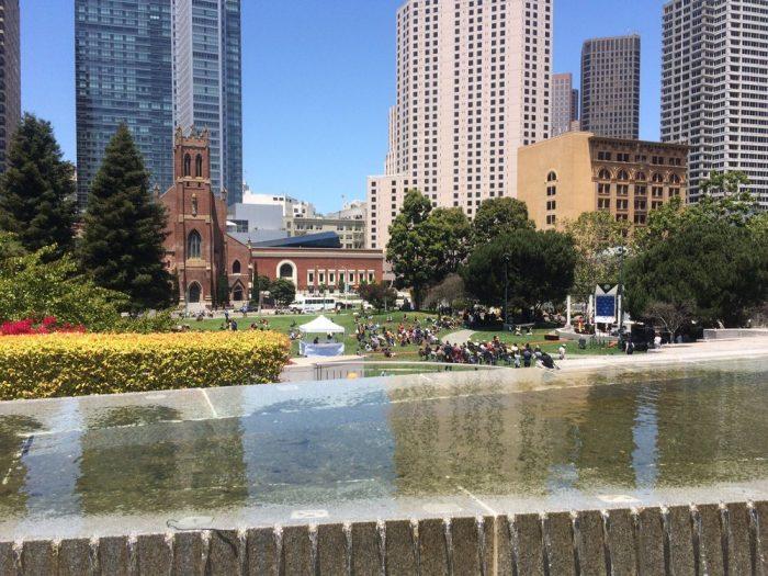 8. Yerba Buena Gardens