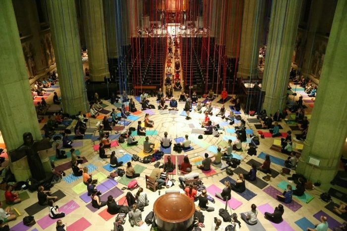 12. Walk the labyrinth at Grace Cathedral...