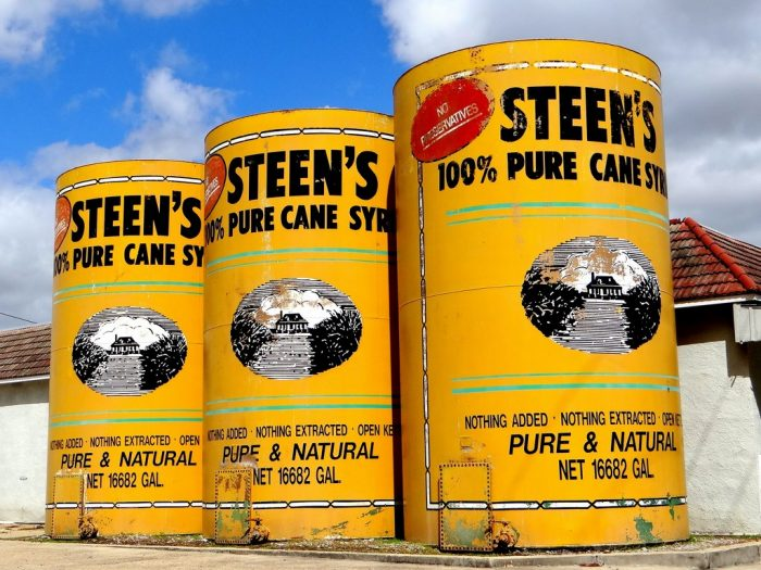 4. Larger Than Life Steen's Syrup Cans, Abbeville, LA