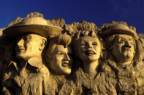 1. Mount Rushmoore with Fake Celebrity Heads – Branson, Mo.