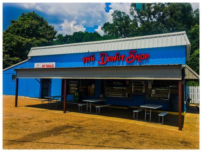 1. The Donut Shop (501 John R. Junkin Dr, Natchez)