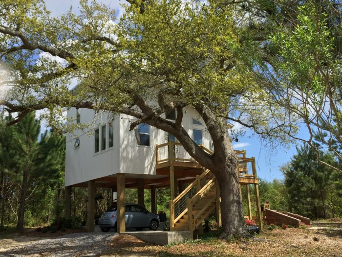 "Last year, the television show ""Tiny House Nation"" came to Mississippi and featured a 576 sq. ft. home that was constructed for a Waveland family, who lost their home in Katrina."