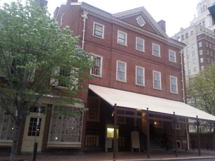 9. City Tavern, Philadelphia
