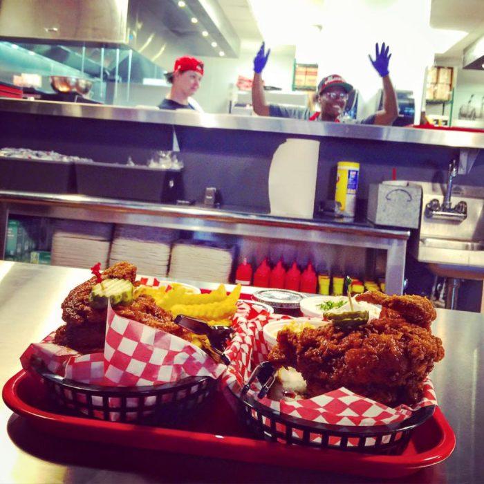 10. Hattie B's Hot Chicken