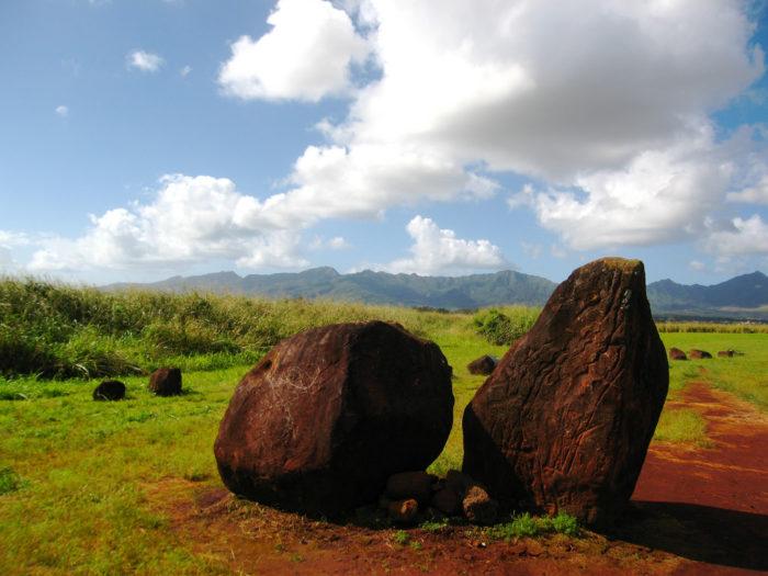 10. Kukaniloko Birthing Stones