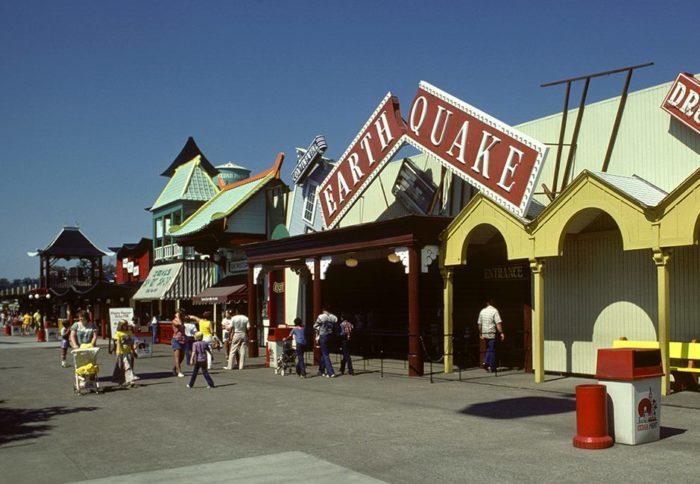 10. Earthquake Ride at Cedar Point Amusement Park: date unknown