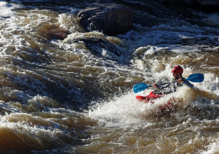 19. We can also ride the rapids at that very spot where Green Russell and his party first prospected for gold...