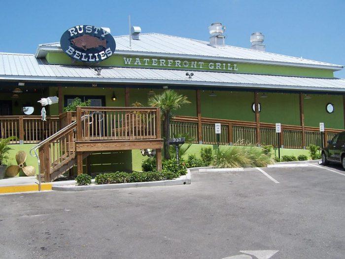 4. Rusty Bellies Waterfront Grille (Tarpon Springs)