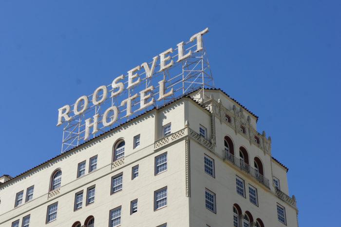 5. Hotel Roosevelt (Los Angeles, California)