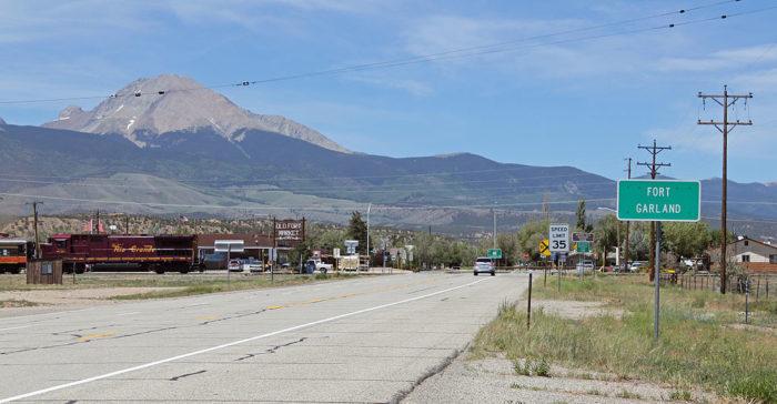 6. Fort Garland (Population: 433)