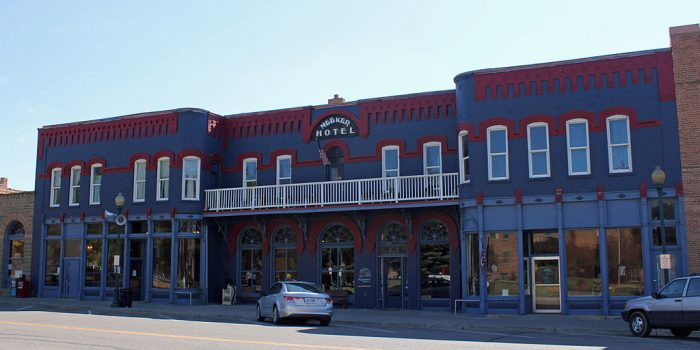 4. Meeker Hotel and Cafe (Meeker)