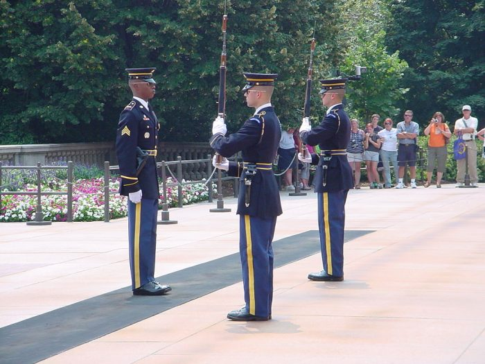 13. Changing of the Guard at Arlington Ceremony