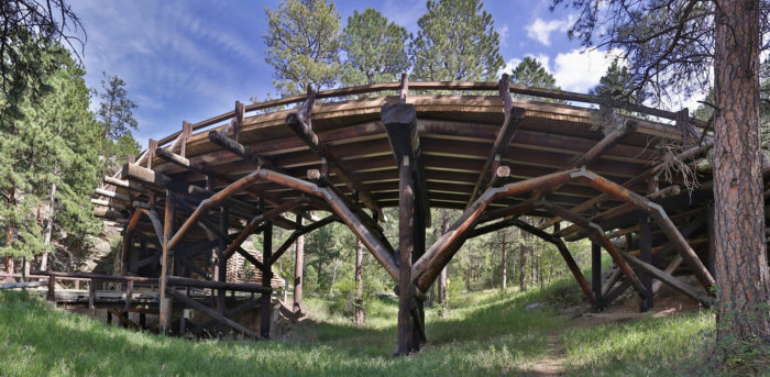 1. One of multiple pigtail bridge in the Black Hills