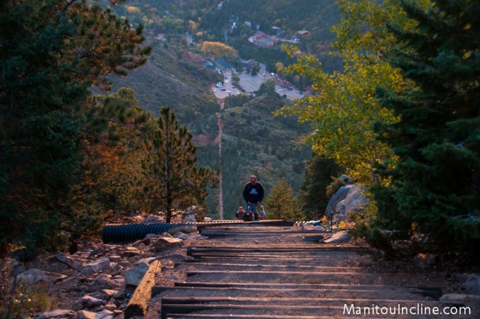 8. Thinking that climbing the Manitou Incline would be fun.