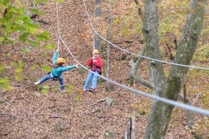 7. Zip line the Flint Hills.