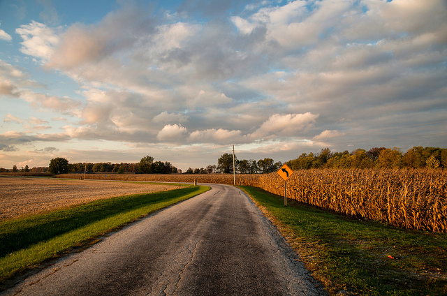 10. We have gorgeous back roads for taking long drives.