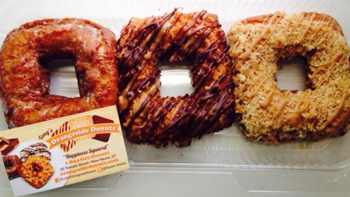 6. Almond Butter Crunch (Tony's Square Donuts, New Haven)