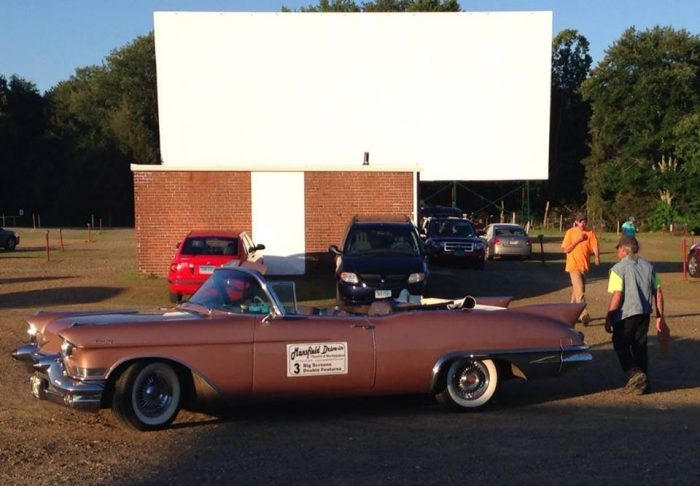 4. Mansfield Drive-in Theatre & Marketplace (Mansfield)