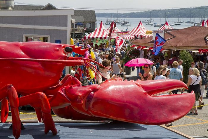10. Maine Lobster Festival, Rockland