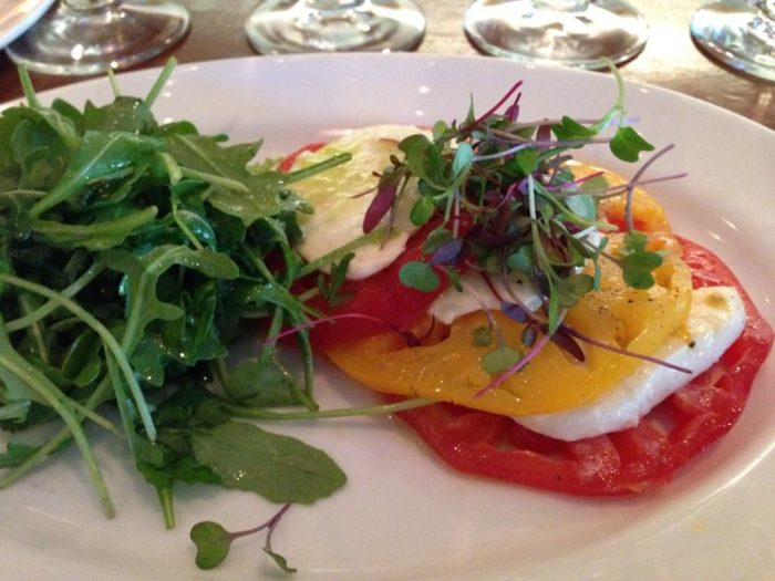 Get a load of this heirloom tomato salad!