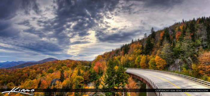 5. Drive along the Blue Ridge Parkway in fall.