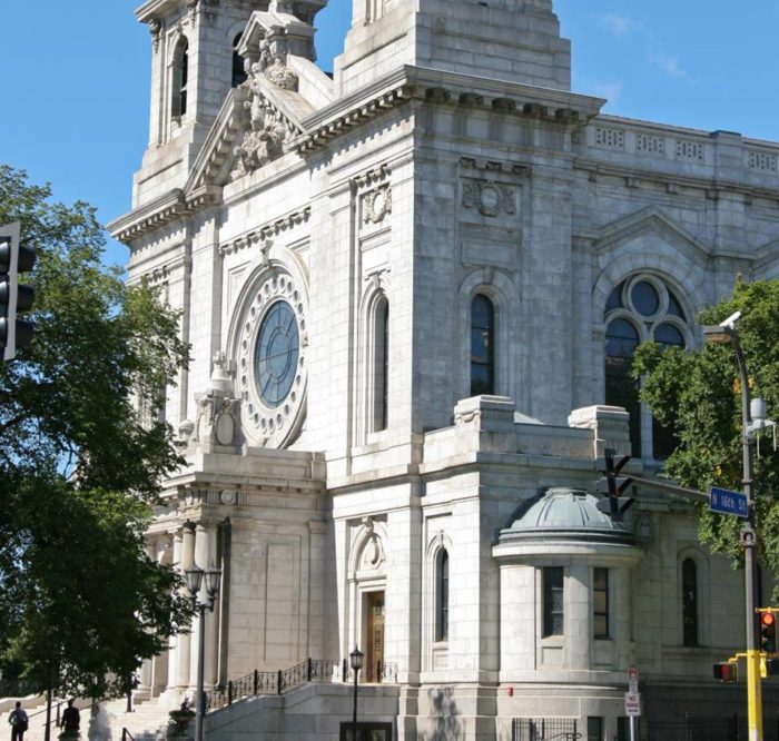 Commissioned by Archbishop Ireland and built between 1907-1915, the Basilica was named the first one in America by Pope Pius XI when the interior was near completion in February 1, 1926.