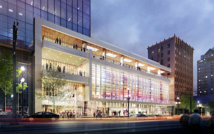 The Eccles Theater is slated to open in October.
