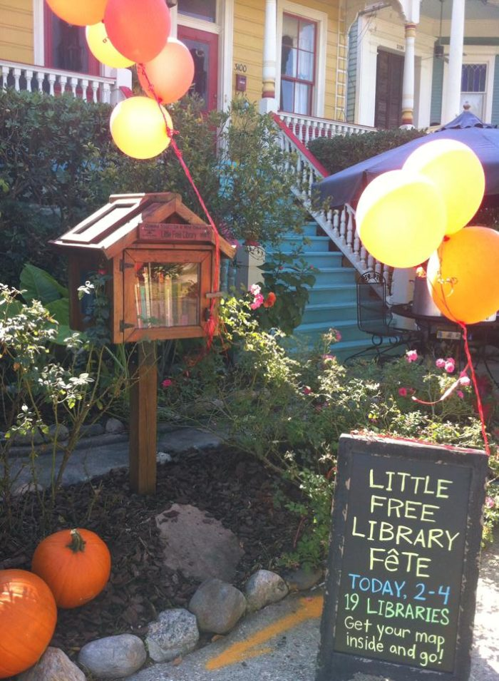 5) Little Free Libraries