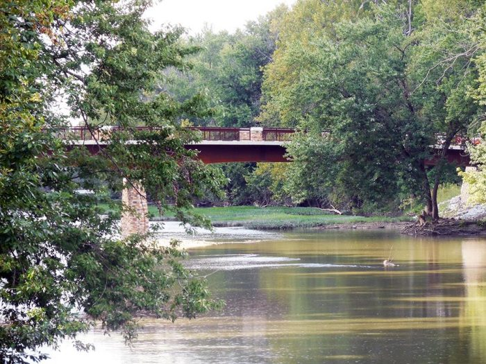 6. The Great Miami River Recreational Trail (Troy)