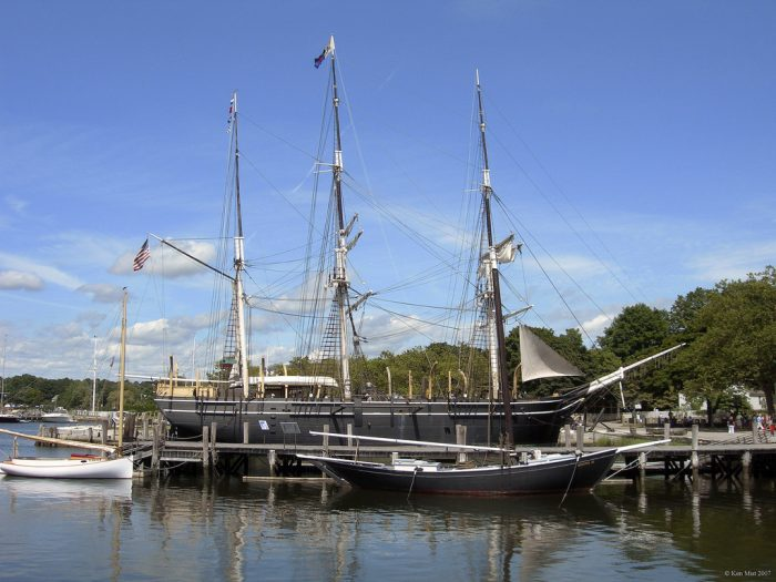 6. A trip to the seaport in Mystic is a trip to the largest maritime museum in the world!