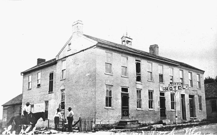 The building was constructed in 1834.