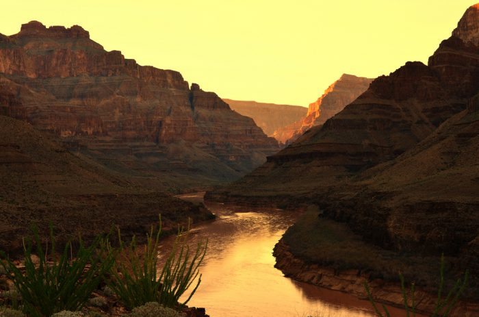4. This is an inspirational place. The Grand Canyon has acted as a muse for hundreds of books, poems, films, photos, and songs.