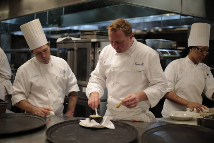 So many incredible chefs have made their home here, including Emeril Lagasse and Paul Prudhomme.