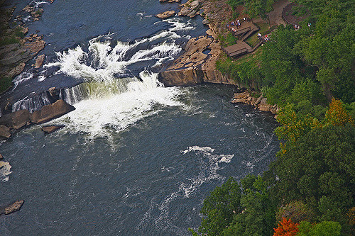 15. Ohiopyle promises outdoor adventure and spellbinding waterfalls, including Ohiopyle Falls and Cucumber Falls.