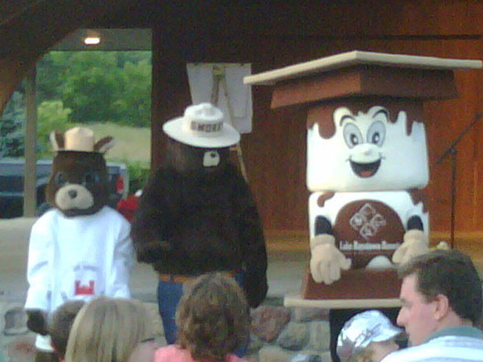 Meet famous Americans, like Smokey the Bear, as they lead educational presentations.