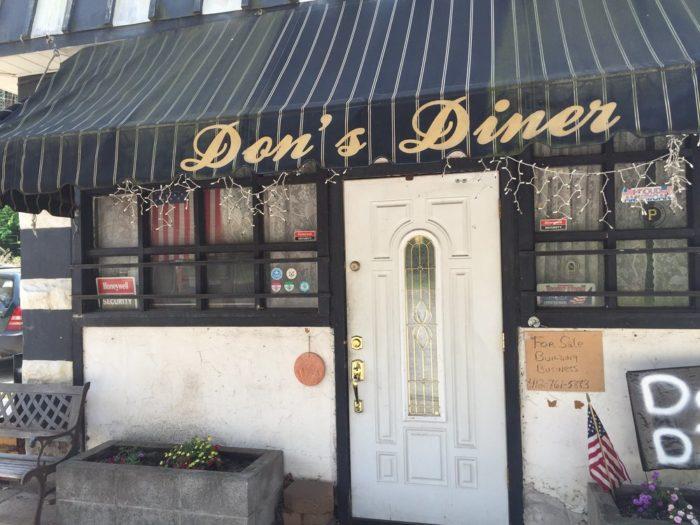 10. Don's Diner - 1729 Eckert Street