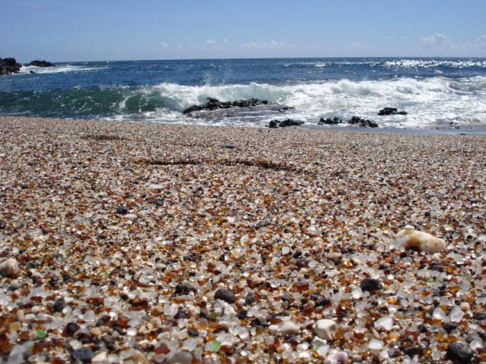 11. Kauai's Glass Beach