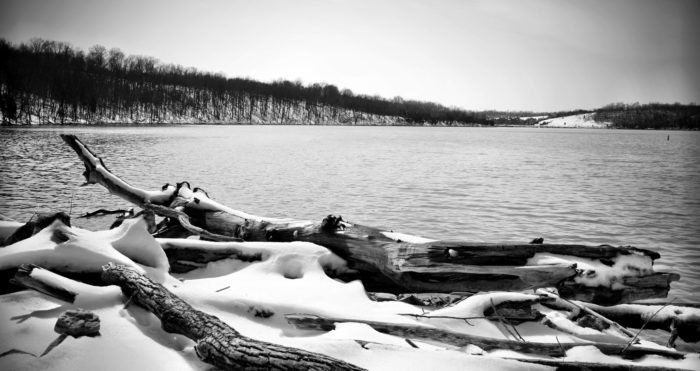 11. Winter is beautiful at Taylorsville Lake.
