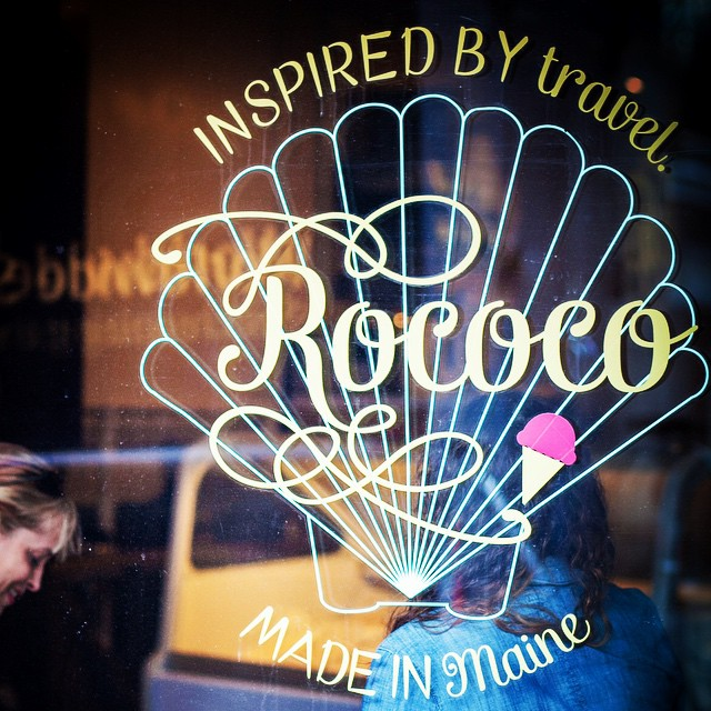 3. Rococo Artisan Ice Cream, Kennebunkport (and newly in Ogunquit!)